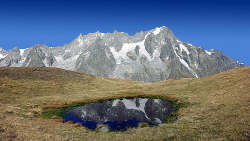 Catena del Bianco vista dalla Val Sapin