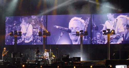 The Police live in Turin