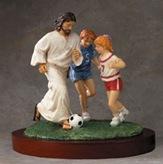 jesus_sports_statue