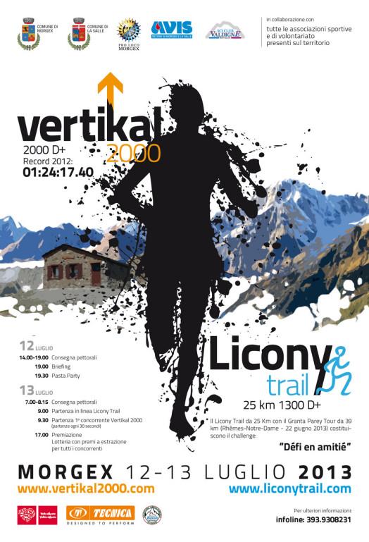Licony Trail, Vertikal 2000
