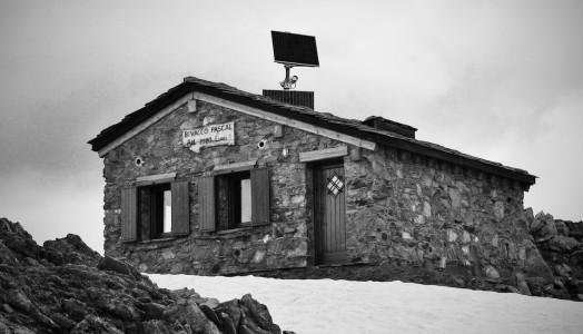 Licony Trail - il Bivacco Pascal, arrivo del Vertikal2000